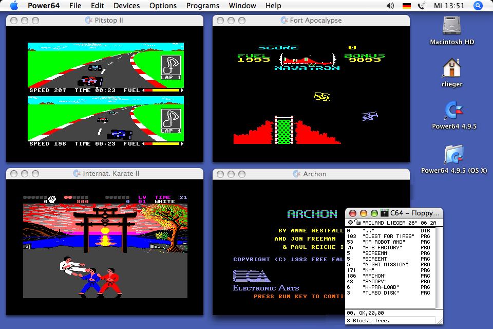 mac osx emulators